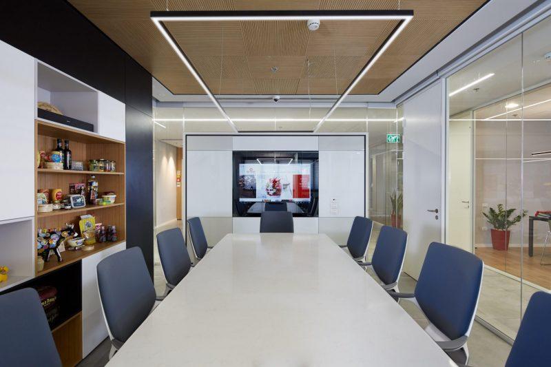 תכנון ועיצוב משרדים בהרצליה. צילום: ליאור אביטן