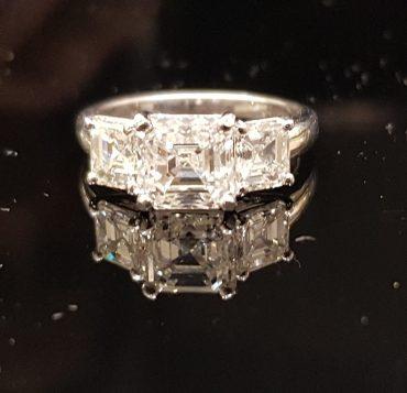 טבעת יהלום. צילום עצמי