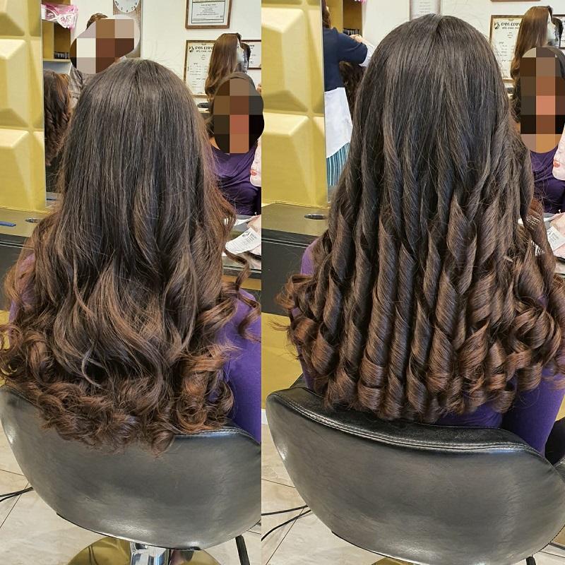 """פאה ארוכה שיער גלי: סלון """"היפה בנשים"""" פתח תקוה, מרכז את כל טיפולי הפאות במקום אחד. צילום עצמי"""