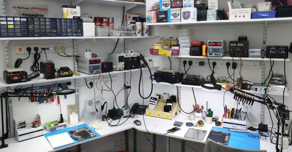 חנות מחשבים בראש העין: סקאזי מחשבים וסלולר (צילום עצמי)