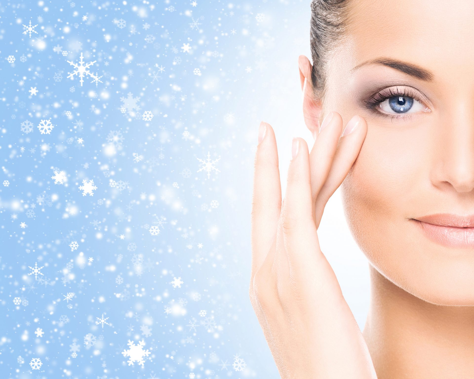 טיפול פנים בחורף (Shutterstock) צילום: Maksim Shmeljov