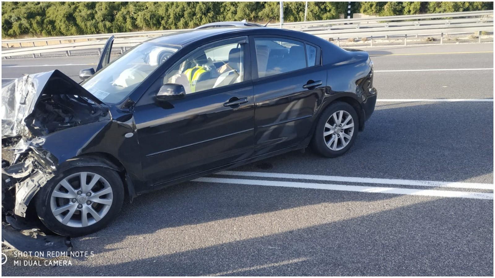 תאונה בכביש 471. צילום דוברות הצלה