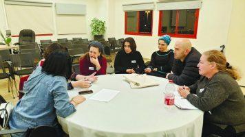 יומן חינוך. מפגש מורים—הורים צילום באדיבות בית הספר