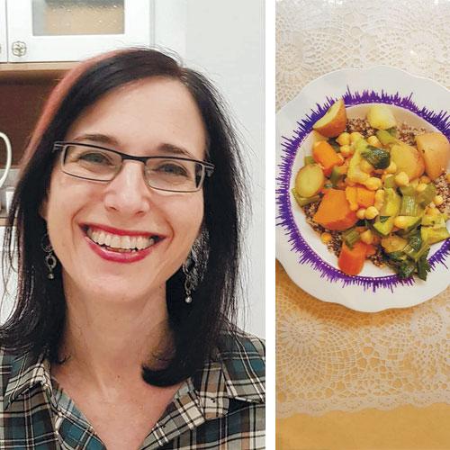 קוסקוס ירקות עם קינואה, טליה בראל