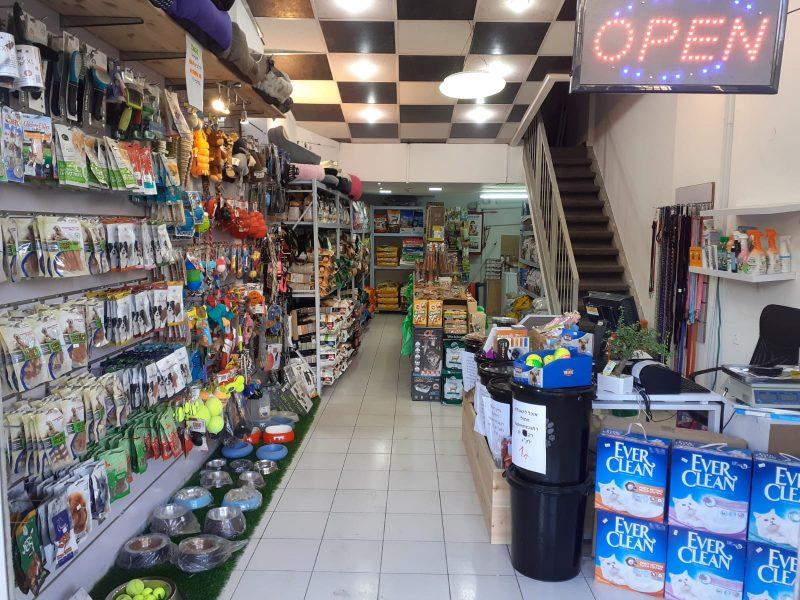 חנות מזון וציוד לבעלי חיים בפתח תקוה: הכל לחיות. צילום באדיבות הלקוח