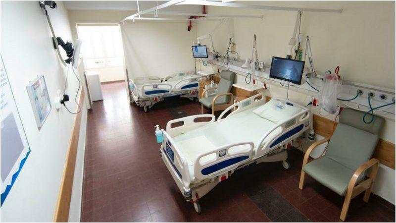 מחלקה ייעודית לחולי קורונה נפתחה בבית החולים השרון. צילום רמי זרנגר