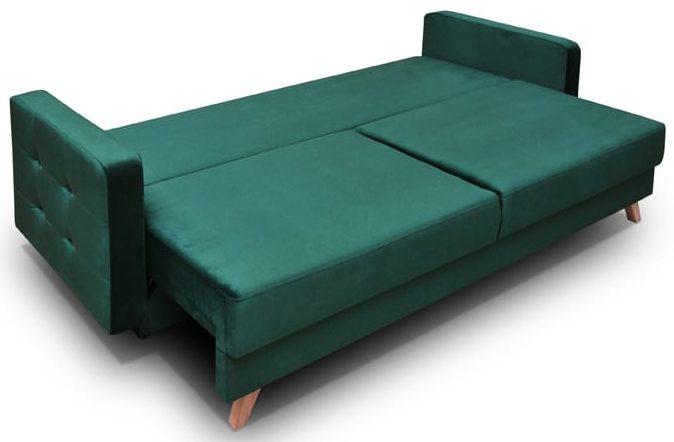 ספה לסלון vegas בעיצוב רטרו נפתחת למיטה זוגית 140/200: במקום 5,200 ₪ - ב-4,200 ₪ בלבד (צילום: טופ רהיט)