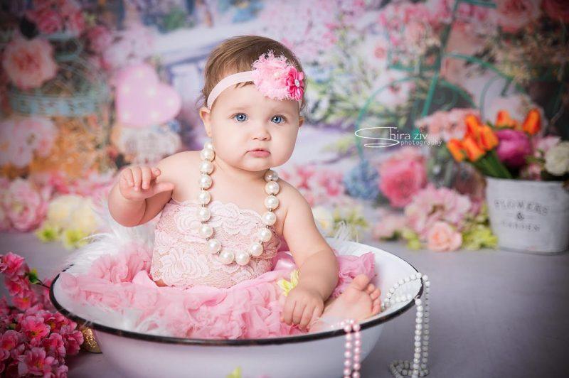 שירה זיו: להראות שהתינוק מתוק גם בלי קרם על הפנים (צילום: סטודיו שירה זיו)