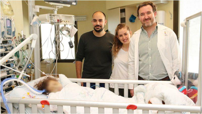 """ד""""ר מיכאל גורביץ, מנהל היחידה להשתלות וניתוחי כבד בילדים במרכז שניידר עם תהילה והוריה"""
