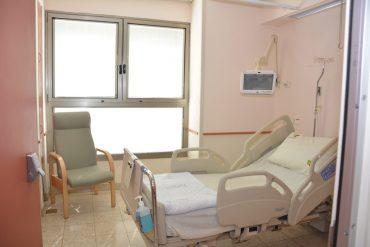 חדר ייעודי בבית החולים בילינסון לחולי קורונה צילום באדיבות בית החולים