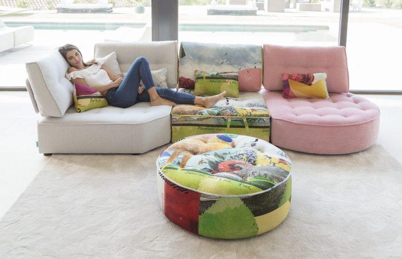 Fama: מבחר ענק של בדים בשלל מרקמים וצבעים (צילום: אתר חברת Fama)