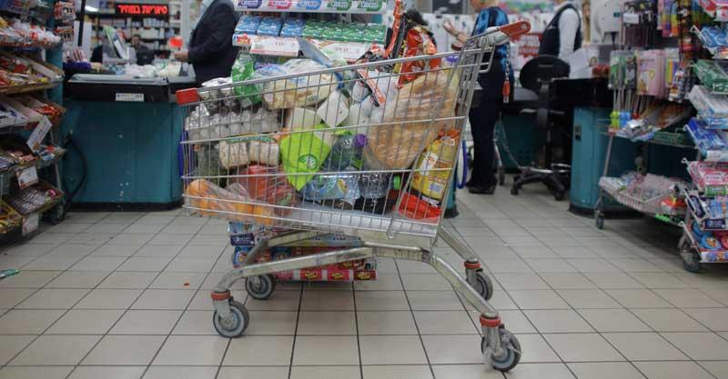 עגלת קניות. צילום דניאל בר און