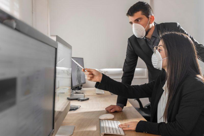מציאות חדשה בעולם העסקי בעקבות עידן הקורונה. צילום: Deliris, Shutterstock
