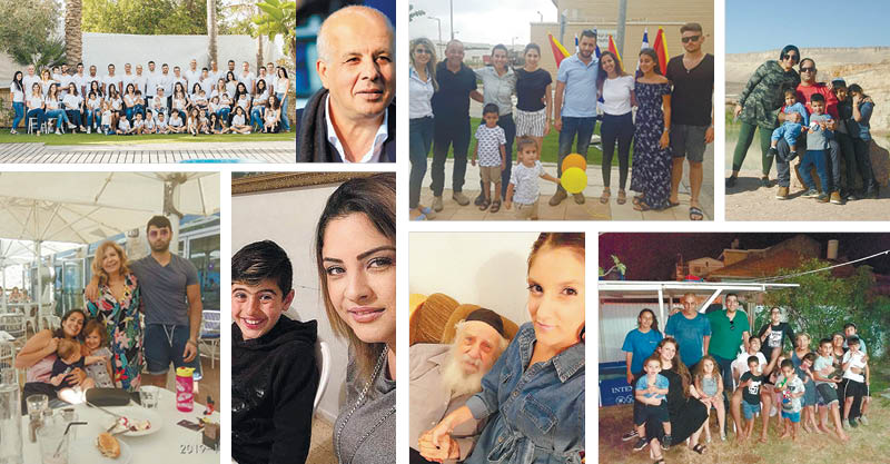 משפחות - צילומים שרון בוקוב, באדיבות משפחת לוזון, פרטי