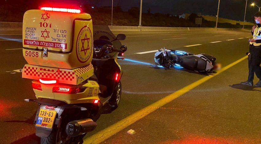 זירת התאונה הקטלנית בכביש 471 צילום תיעוד מבצעי מדא