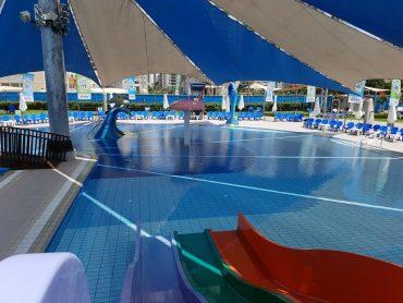 בריכת השחייה בספורטן. צילום: קרן שלייפשטיין