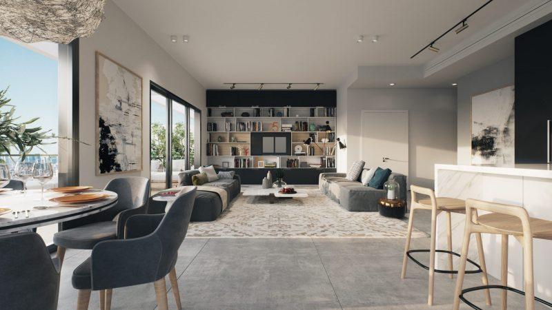 ברוכים הבאים לדירת החלומות שלכם. הדמיה: 3dvision