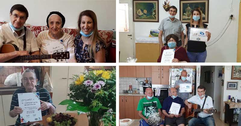 מחמם את הלב: המרכז העירוני להנצחת השואה חגג ימי הולדת לשורדי שואה
