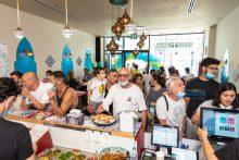 מסעדת צ'יצ'ו בפתח תקוה: השילוב בין אוכל מרוקאי לחגיגה ים תיכונית. צילום: תומר וקנין