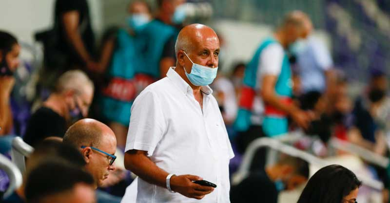 אבי לוזון- מכבי פתח תקוה בגמר הגביע. צילום ניר קידר