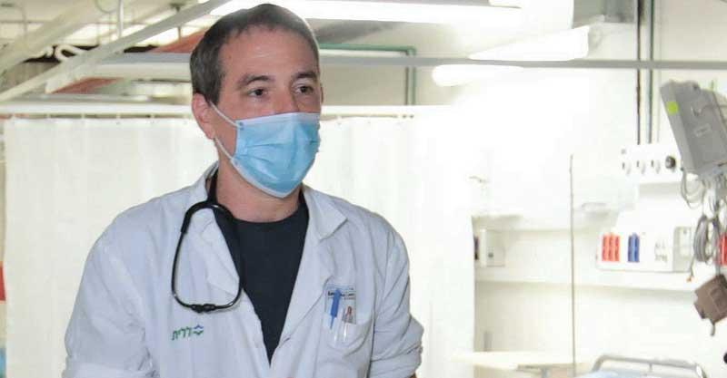 פרופ' אלון גרוסמן. צילום דוברות בית החולים בילינסון