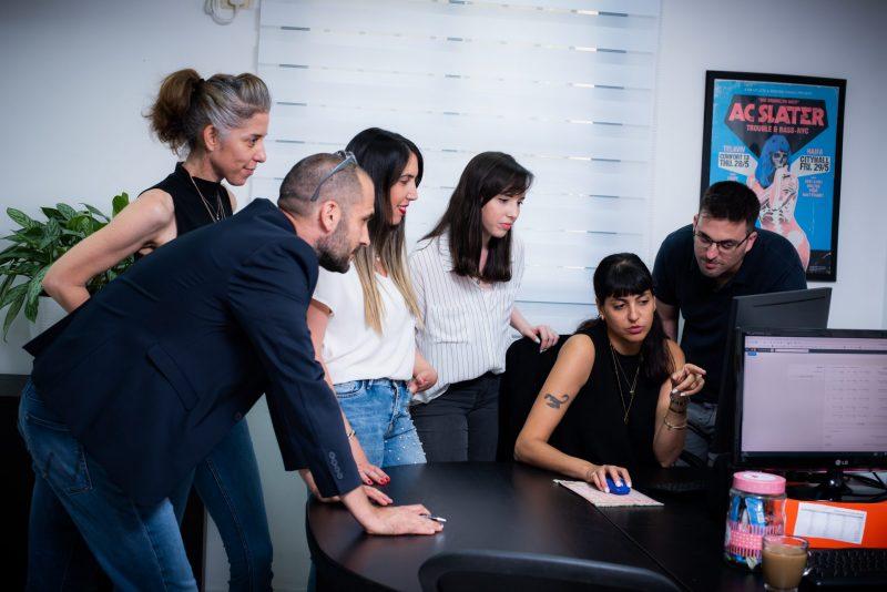 צוות משרד הפרסום אלון סוזי, צילום: תומר אלמקייס